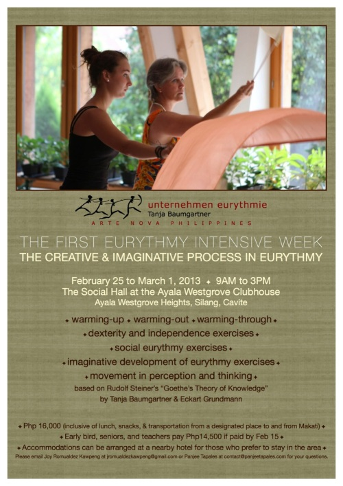 MUST JOIN!!! EURYTHMY WORKSHOP!